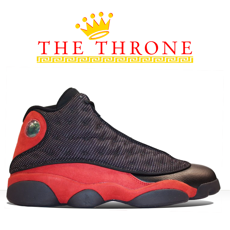 1998 air jordan 13 og �bred� the throne sc
